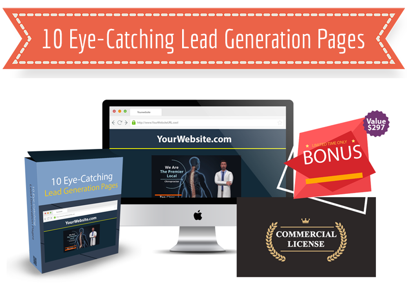 10 Eye-Catching Lead Generation Pages